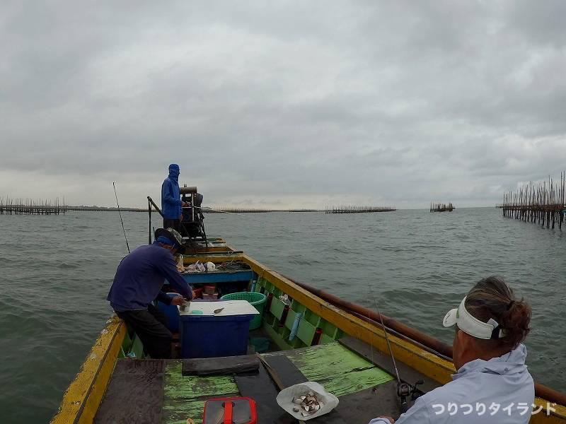 タイランド 釣り船