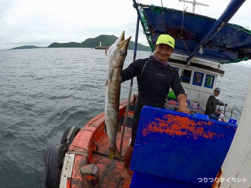 シーチャン島 船釣り ヨコシマサワラ