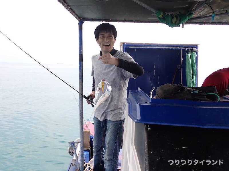 タチウオ釣った魚さん