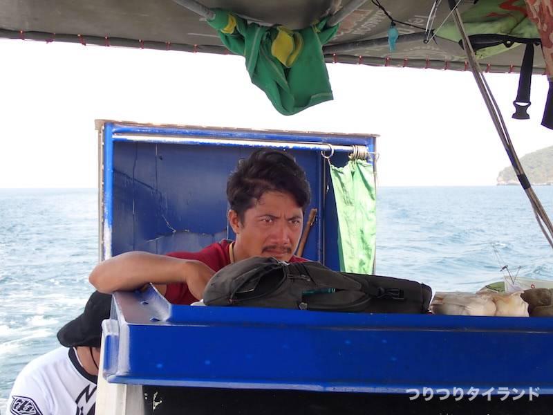 タイランド ワンチャイ船
