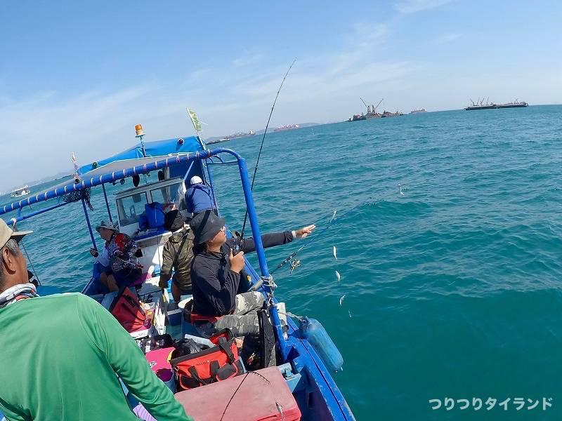 カンルアン 鯵 サビキ釣り シーチャン島