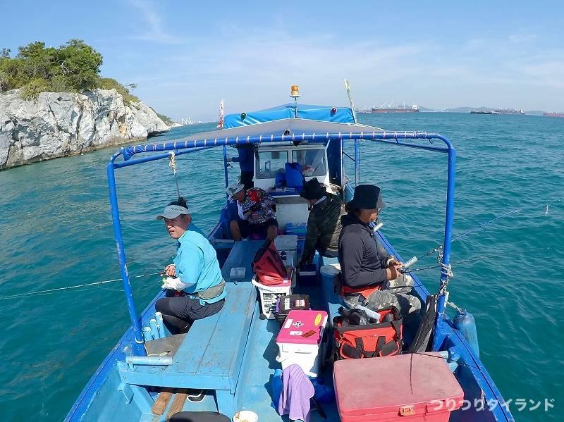 シーチャン島 鯵釣り