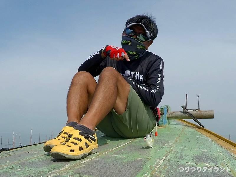 タイ 釣り船