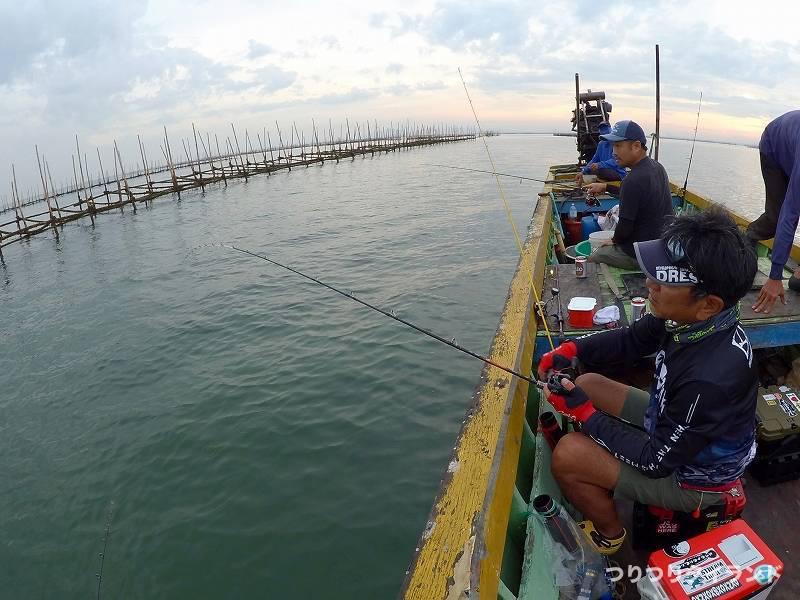 バンサイ沖 釣り