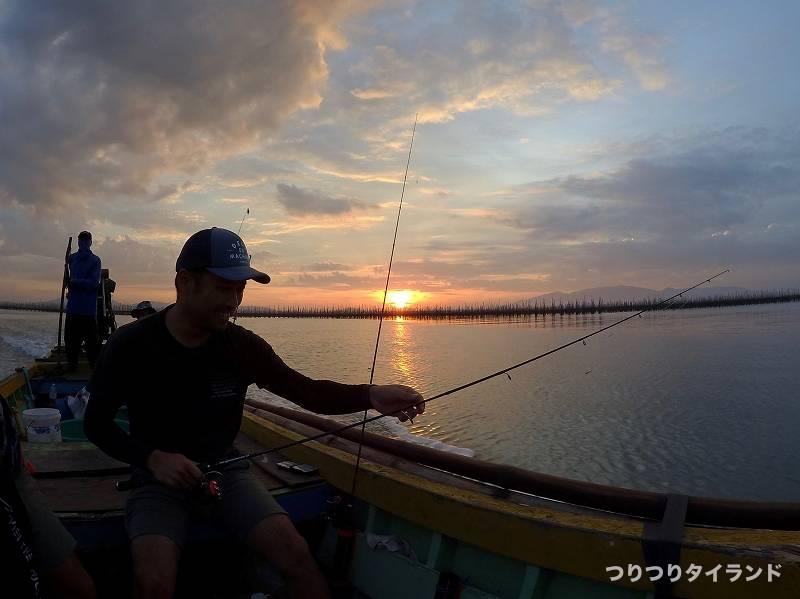 タイランド 船釣り 準備