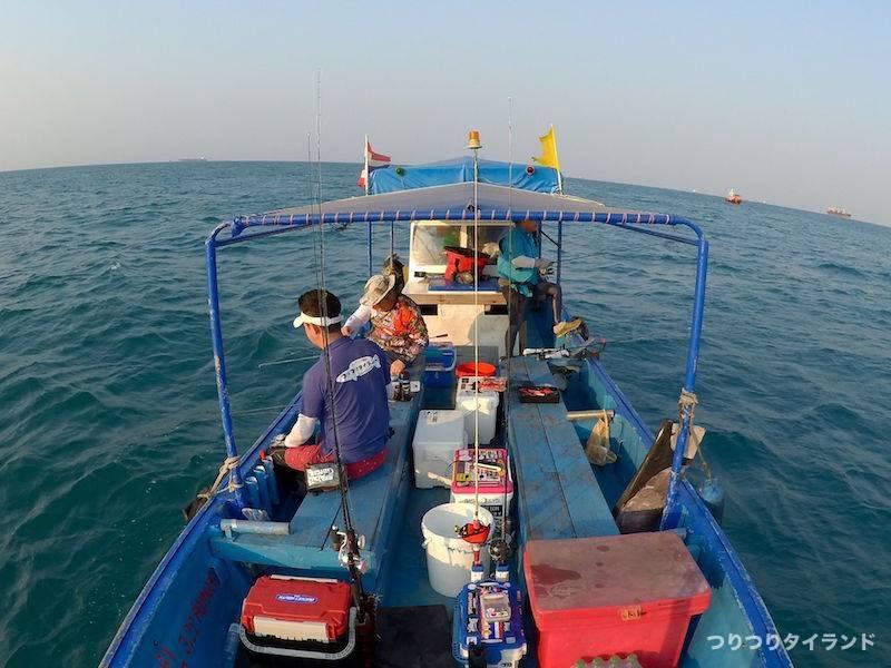 ワンチャイ船 シーチャン島