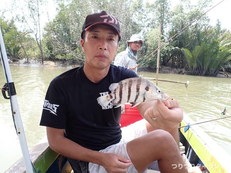 バンパコン川 ホワイトタイガー