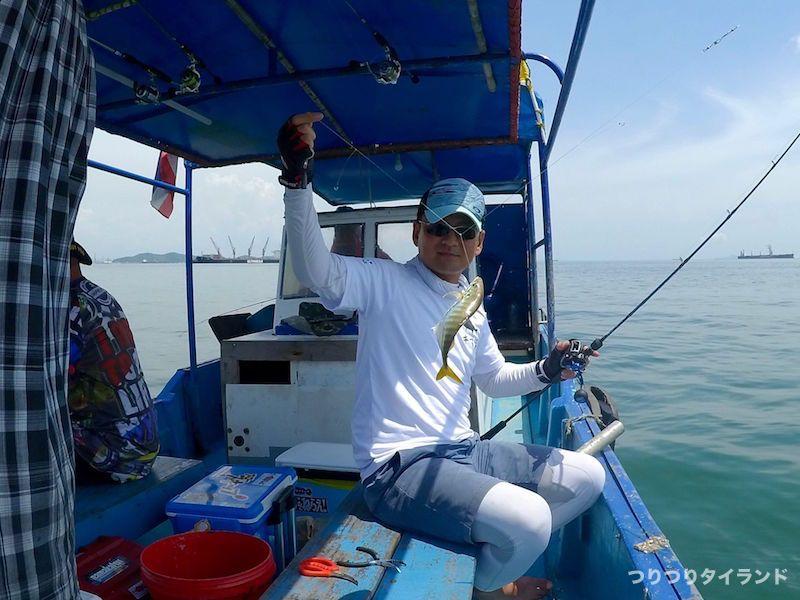 シーチャン島 釣れたマテアジ