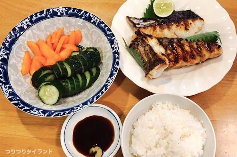 三五八漬け 焼き魚