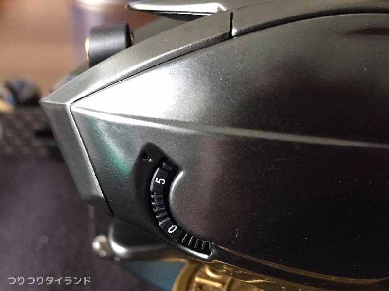 G-MAX CAPTAIN マグブレーキ調整