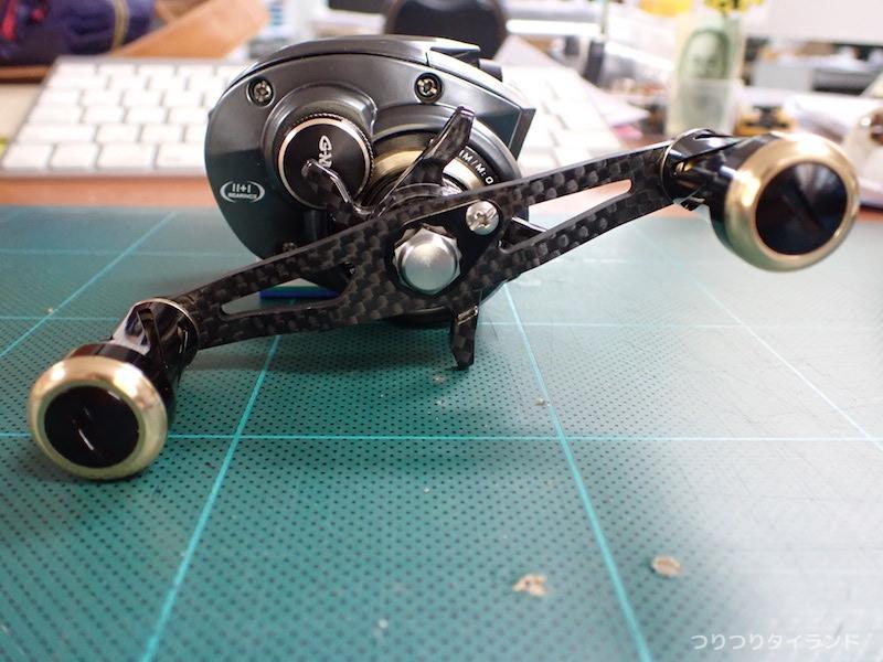 G-MAX CAPTAINのハンドル