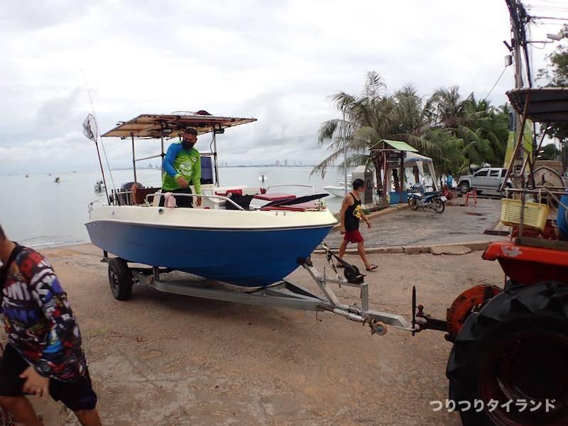 バンサレー スロープ 釣り船
