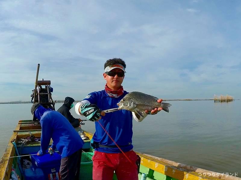 タイランド湾 チヌ釣ったツボっちゃん