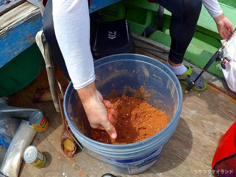 タイランド湾 チヌ ダンゴ