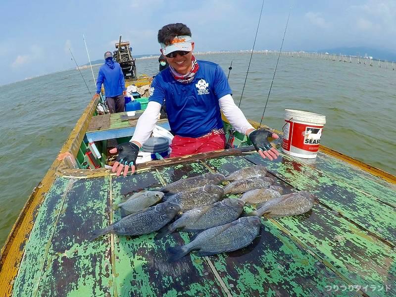 バンサイ チヌ 釣果