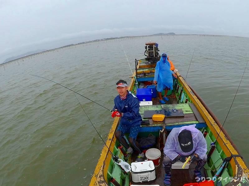 タイランド 船 釣り